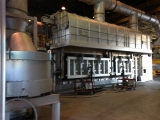 ALUMINUM MELTING FURNACE 150T