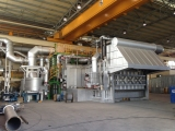 ALUMINUM MELTING FURNACE 65T